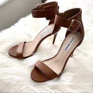 Steve Madden Leather Heel Sandals
